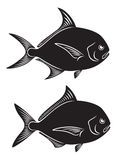 Peixes das xaputas ilustração stock