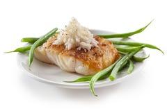 Peixes de bacalhau Imagem de Stock Royalty Free