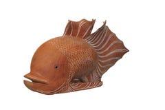 Peixes de madeira Fotografia de Stock Royalty Free