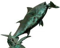 Peixes de vôo de salto do atum Imagem de Stock Royalty Free