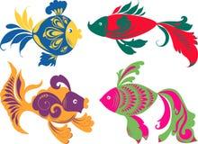 Peixes decorativos Imagem de Stock Royalty Free