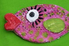 Peixes decorativos coloridos Fotografia de Stock Royalty Free