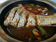 Peixes deliciosos dos pedas do asam Foto de Stock Royalty Free