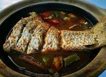 Peixes deliciosos dos pedas do asam Foto de Stock