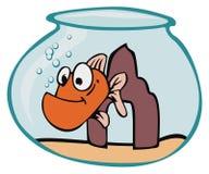 Peixes - desenhos animados Foto de Stock Royalty Free