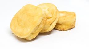 Peixes do basa do Tofu fritados em Vietname imagem de stock royalty free