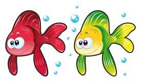 Peixes do bebê ilustração do vetor