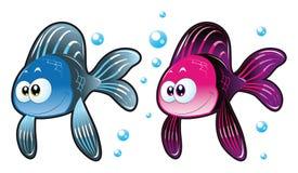 Peixes do bebê Foto de Stock