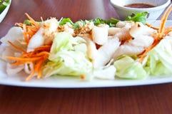 Peixes do córrego para o alimento saudável Fotos de Stock