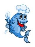 Peixes do cozinheiro chefe Imagens de Stock