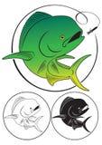 Peixes do golfinho ilustração royalty free