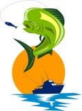 Peixes do golfinho de Dorado ilustração do vetor