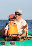 Peixes do pai e do filho Fotografia de Stock Royalty Free