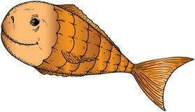 Peixes dos desenhos animados Fotografia de Stock