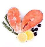 Peixes dos salmões vermelhos Imagem de Stock