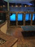 Peixes e tênis de mesa Fotos de Stock