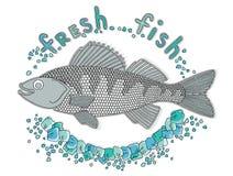 Peixes frescos 3 Ilustração do Vetor