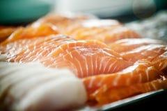 Peixes frescos do corte Imagens de Stock
