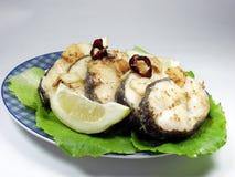 Peixes fritados Fotos de Stock