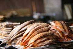 Peixes fritados Fotografia de Stock Royalty Free