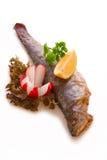 Peixes fritados Imagens de Stock Royalty Free