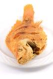 Peixes fritados Fotos de Stock Royalty Free