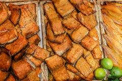 Peixes fumado Foto de Stock Royalty Free