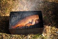 Peixes fumado fotografia de stock