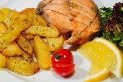 Peixes grelhados Foto de Stock