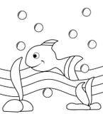 Peixes ilusórios ilustração do vetor