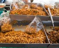 Peixes pequenos fritados Imagens de Stock