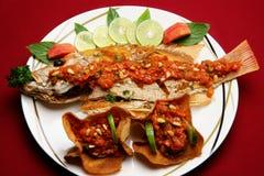 Peixes picantes libaneses Fotos de Stock Royalty Free