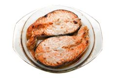 Peixes Salmon fotos de stock royalty free