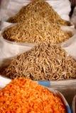 Peixes secados chineses fotos de stock
