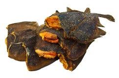 peixes secados com caviar Imagem de Stock