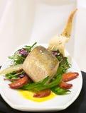 Peixes supremos com vegetais Imagem de Stock