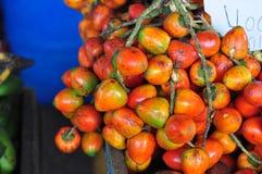 Pejibaye bij Markt Stock Fotografie