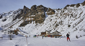 PEJO, ITALY - MARCH 8, 2017: Dos dei Gembri on 8 March 2017 in P Stock Photography
