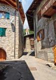 Pejo - Val di Единственн Стоковые Фото