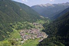 Pejo valley Stock Image