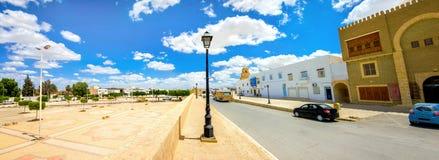 Pejzaż miejski święty miasto Kairouan Tunezja, afryka pólnocna Obraz Stock