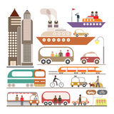 Pejzaż miejski royalty ilustracja