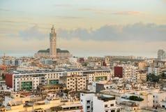 Pejzaż miejski Casablanca zdjęcia stock