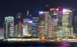 pejzaż miejski Hong kong Fotografia Stock