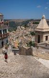 pejzaż miejski ibla Ragusa Sycylia włochy Obraz Royalty Free