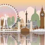 pejzaż miejski London Zdjęcie Stock