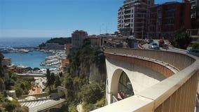 Pejzaż miejski Monaco, Cote D'Azur Francja zbiory wideo