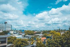 Pejzaż miejski od Kolombo Sri Lanka obrazy stock