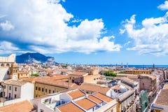 Pejzaż miejski Palermo w Włochy Obraz Royalty Free