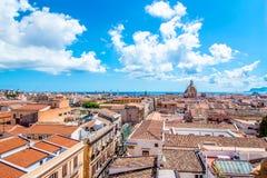 Pejzaż miejski Palermo w Włochy Zdjęcie Royalty Free